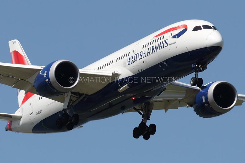 G-ZBJH | Boeing 787-8 | British Airways