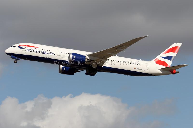 G-ZBKA   Boeing 787-9   British Airways