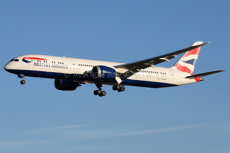 G-ZBKG | Boeing 787-9 | British Airways