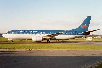 G-OBMN | Boeing 737-46B | British MIdland