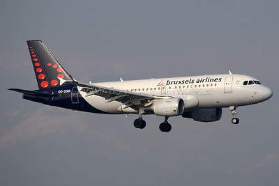 OO-SSB | Airbus A319-112 | Brussels Airlines