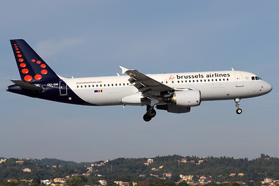 OO-SNI | Airbus A320-214 | Brussels Airlines