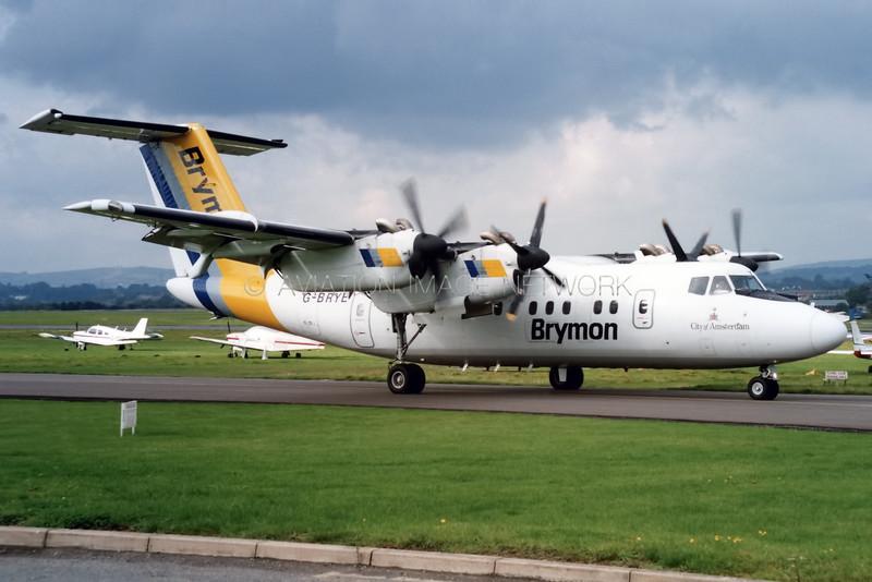 G-BRYE | de Havilland Canada Dash 7-100 | Brymon Airways