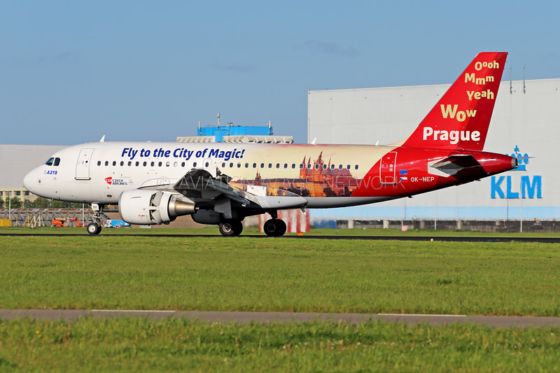 OK-NEP | Airbus A319-112 | CSA - Czech Airlines