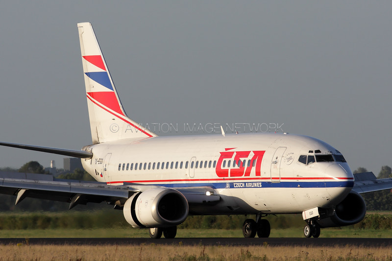 OK-EGO | Boeing 737-55S | CSA - Czech Airlines