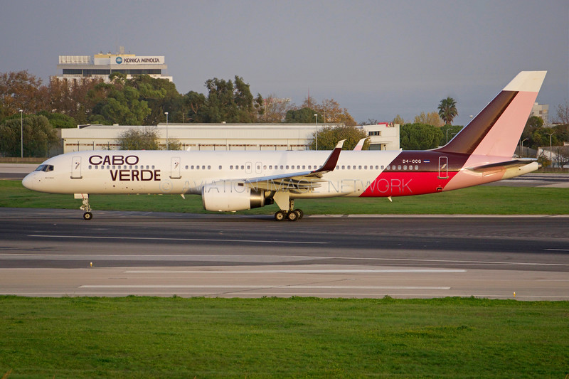 D4-CCG | Boeing 757-208 | Cabo Verde Airlines