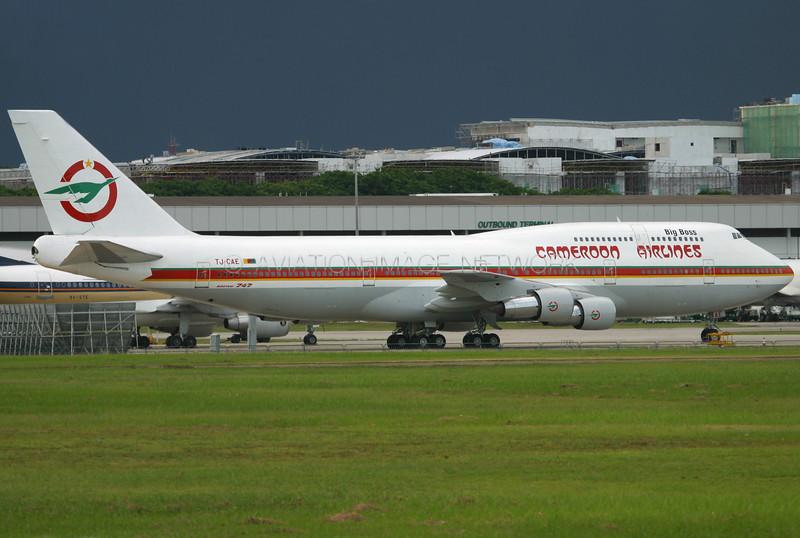 TJ-CAE | Boeing 747-312 | Cameroon Airlines