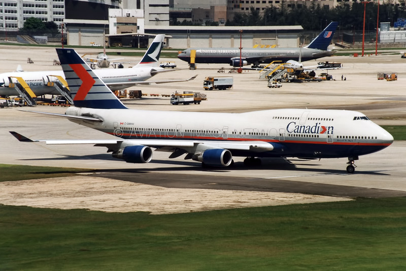C-GMWW |  Boeing 747-475 | Canadian Airlines