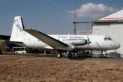 ZS-XGE | Hawker Siddeley HS-748-2A | Care Airlines
