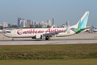 9Y-POS | Boeing 737-8Q8 | Caribbean Airlines