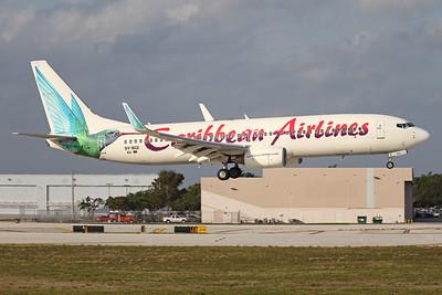 9Y-BGI | Boeing 737-8Q8 | Caribbean Airlines
