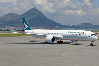B-LXA | Airbus A350-1041 | Cathay Pacific
