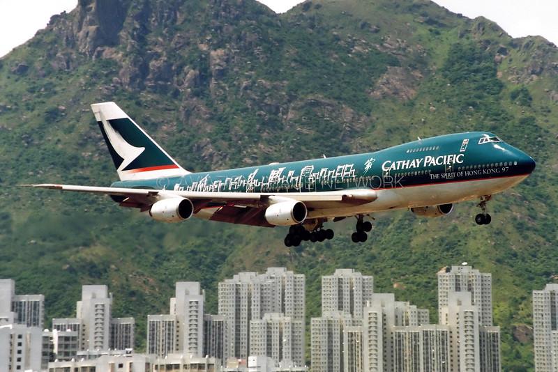 B-HIB   Boeing 747-267B   Cathay Pacific