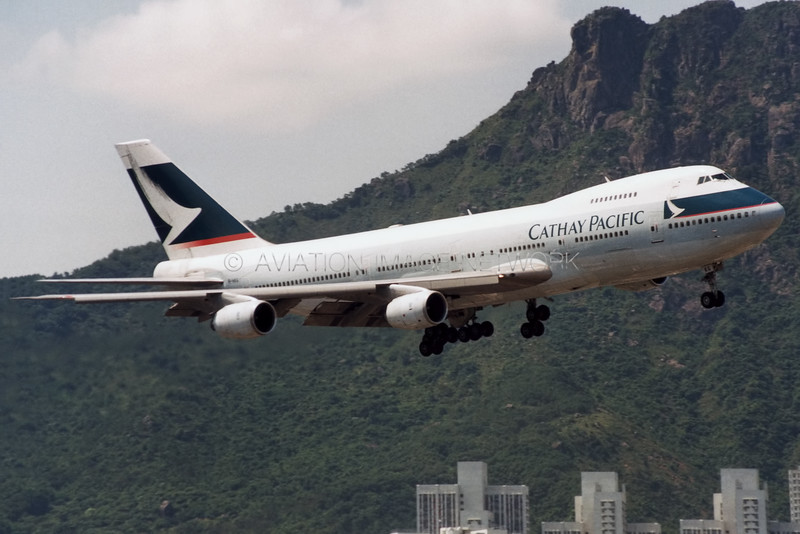 B-HKG | Boeing 747-267B | Cathay Pacific