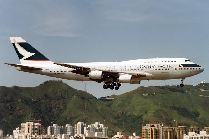 B-HON | Boeing 747-367 | Cathay Pacific