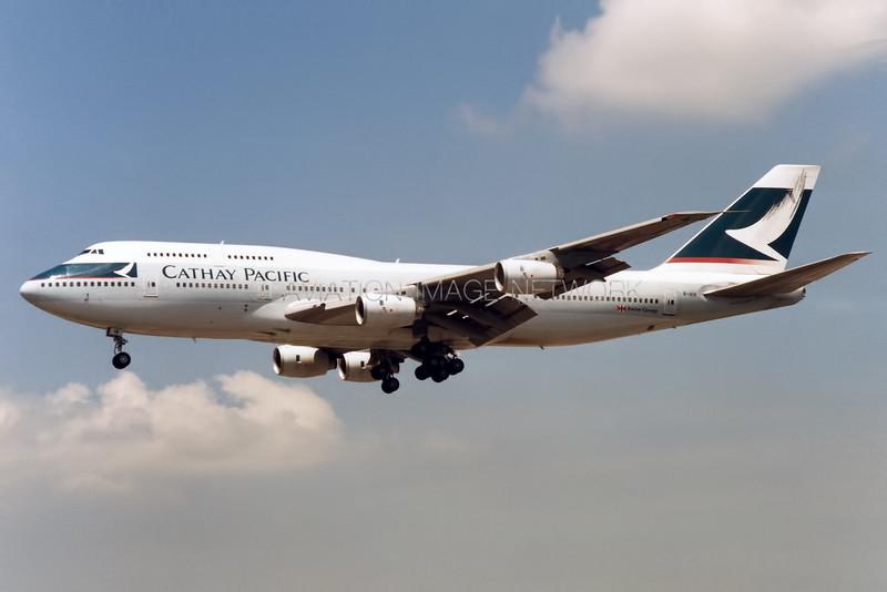 B-HIK | Boeing 747-367 | Cathay Pacific