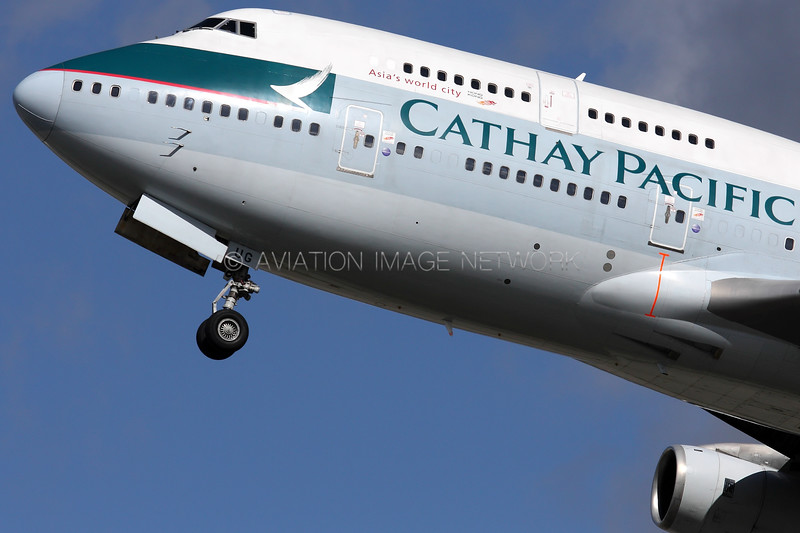 B-HUG   Boeing 747-467   Cathay Pacific