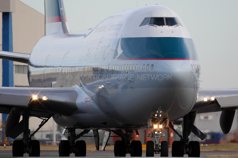 B-HKU | Boeing 747-412 | Cathay Pacific