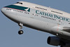 B-HKF | Boeing 747-412 | Cathay Pacific