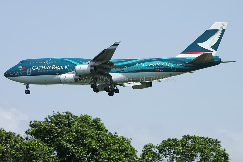 B-HOY | Boeing 747-467 | Cathay Pacific