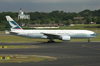 B-HND | Boeing 777-267 | Cathay Pacific