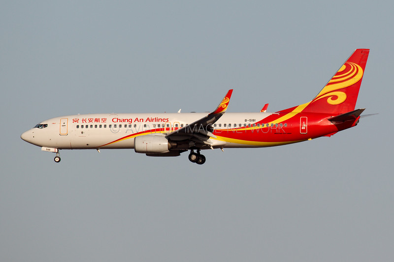 B-5181   Boeing 737-8FH   Chang An Airlines