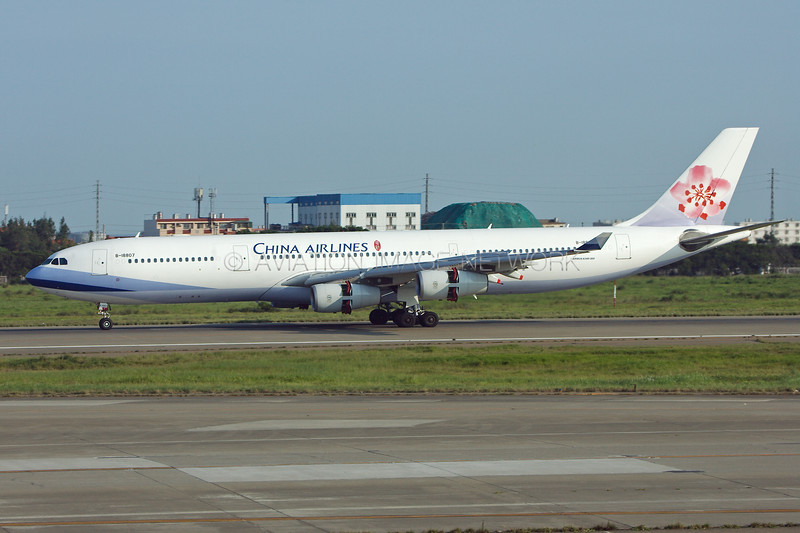 B-18807 | Airbus A340-313 | China Airlines