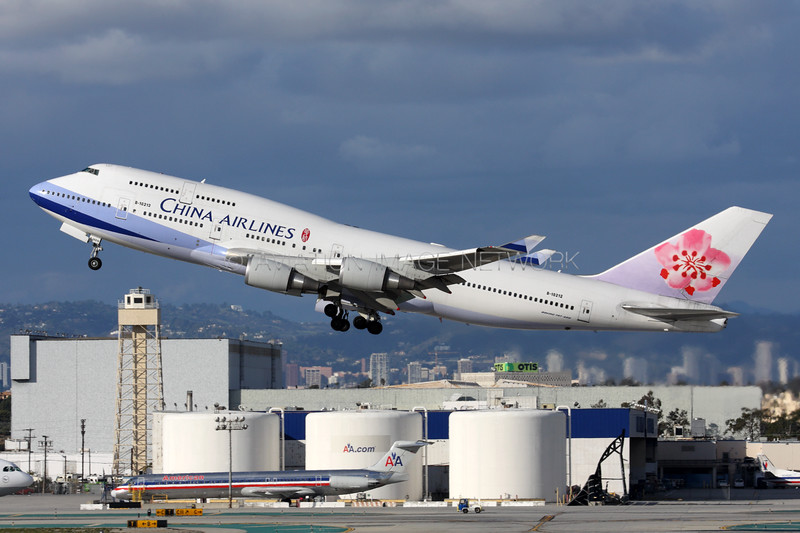 B-18212 | Boeing 747-409 | China Airlines