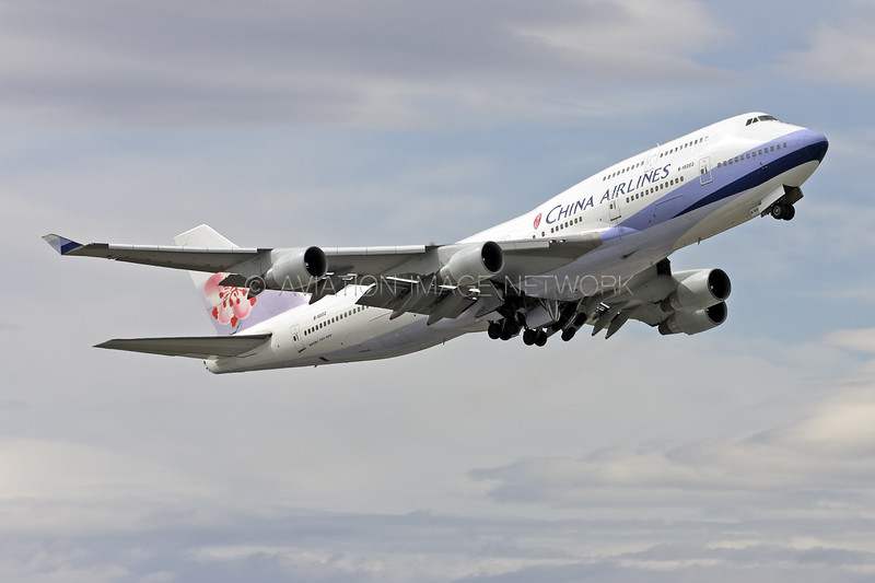 B-18203 | Boeing 747-409 | China Airlines