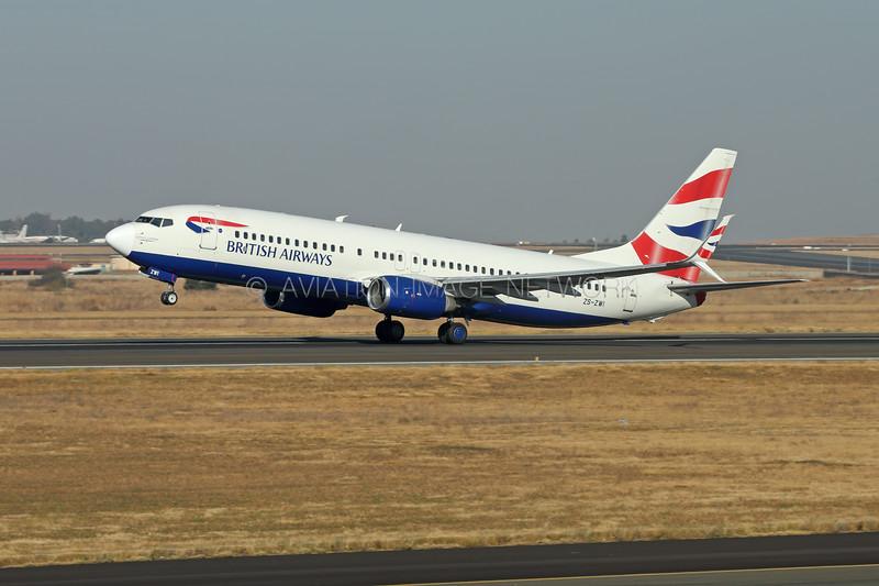 ZS-ZWI   Boeing 737-85R   British Airways (Comair Limited)