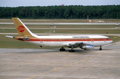N13974   Airbus A300B4-203   Continental Airlines