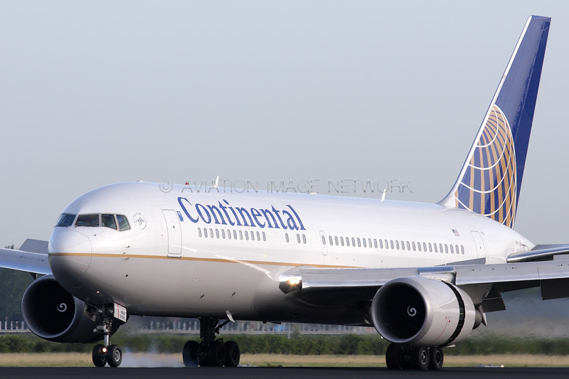 N68160 | Boeing 767-224/ER | Continental Airlines