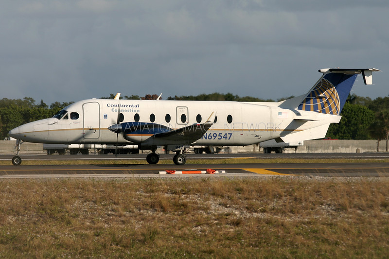 N69547 | Beech 1900D | Continental Connection (Gulfstream International Airlines)