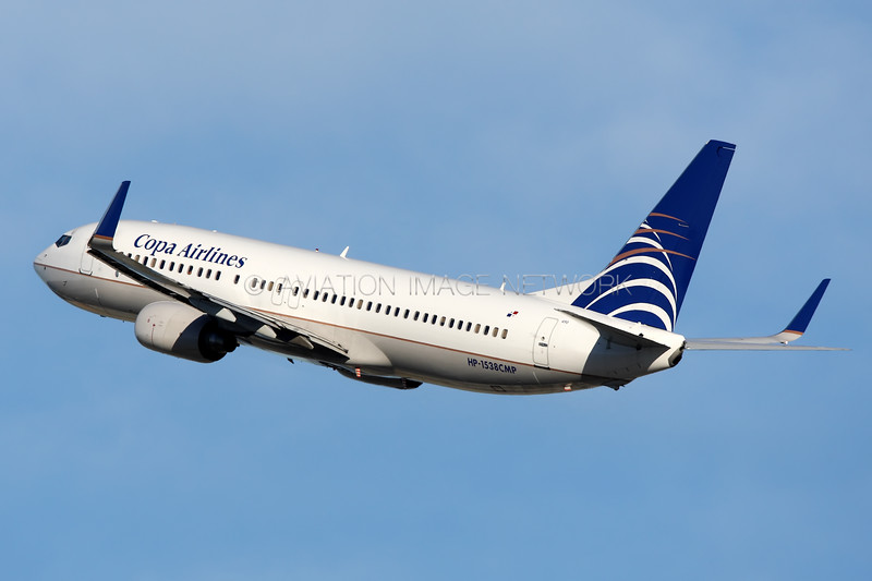 HP-1538CMP | Boeing 737-8V3 | Copa Airlines