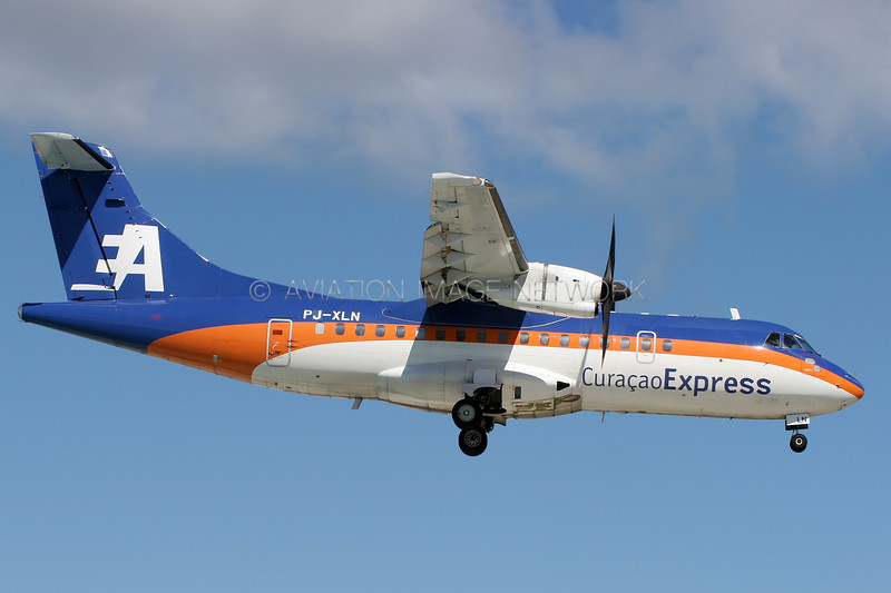 PJ-XLN | ATR 42-500 | Curacao Express