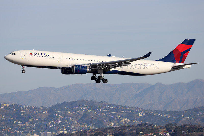 N823NW | Airbus A330-302 | Delta Air Lines