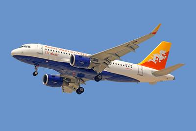 A5-JSW | Airbus A319-115 | Drukair - Royal Bhutan Airlines
