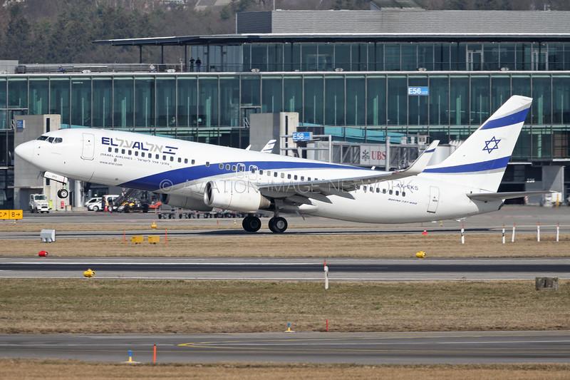 4X-EKS | Boeing 737-8HX | EL AL