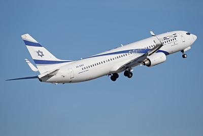 4X-EKH   Boeing 737-8HX   EL AL