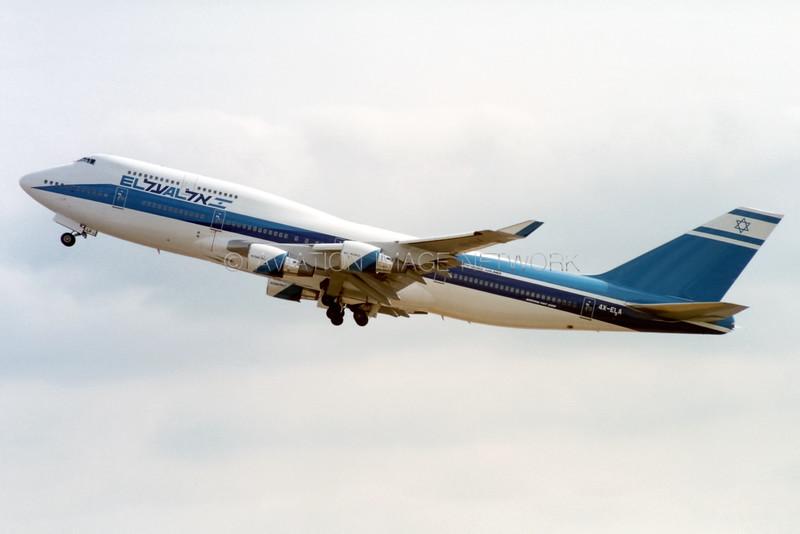 4X-ELA | Boeing 747-458 | EL AL