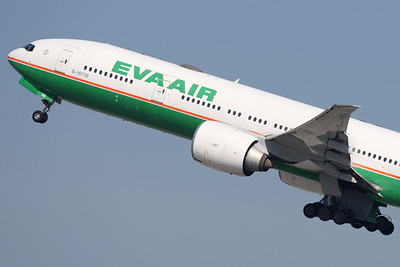 B-16718   Boeing 777-35E/ER   EVA Air
