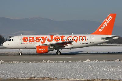 G-EZAD | Airbus A319-111 | easyJet