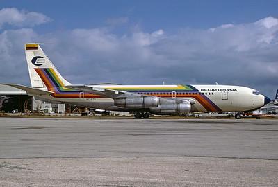 HC-AZP | Boeing 707-023B | Ecuatoriana