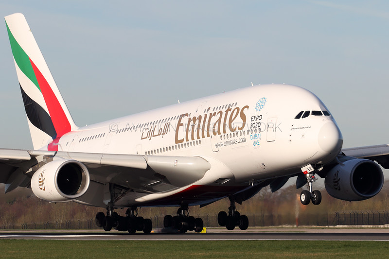 A6-EEN   Airbus A380-861   Emirates