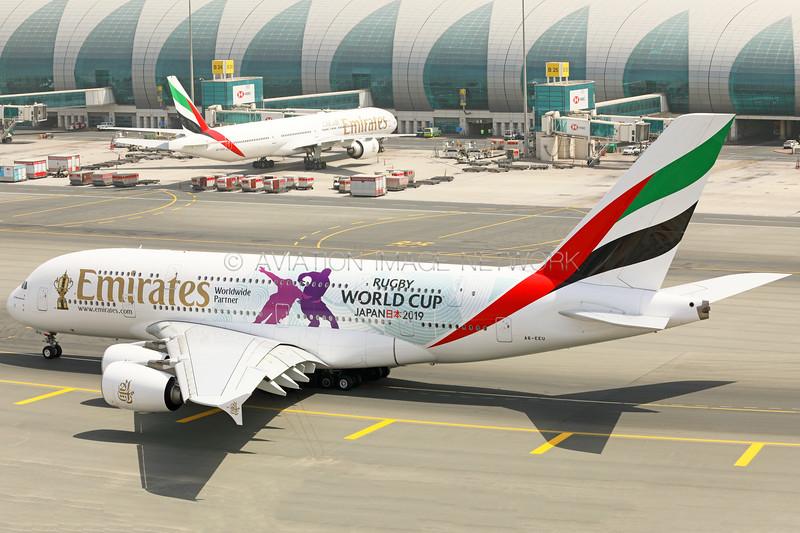 A6-EEU | Airbus A380-861 | Emirates
