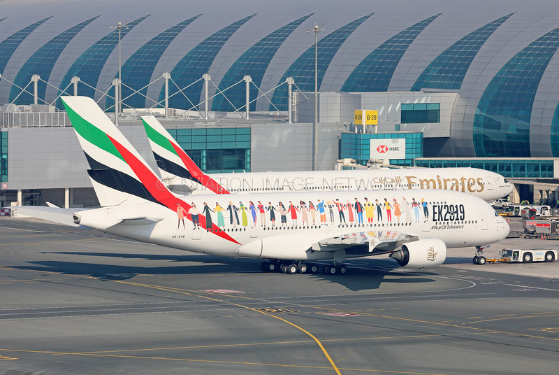 A6-EVB | Airbus A380-842 | Emirates