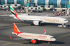 A6-EGQ | VT-EXA | Airbus A320-214 | Boeing 777-31H/ER | Air India | Emirates