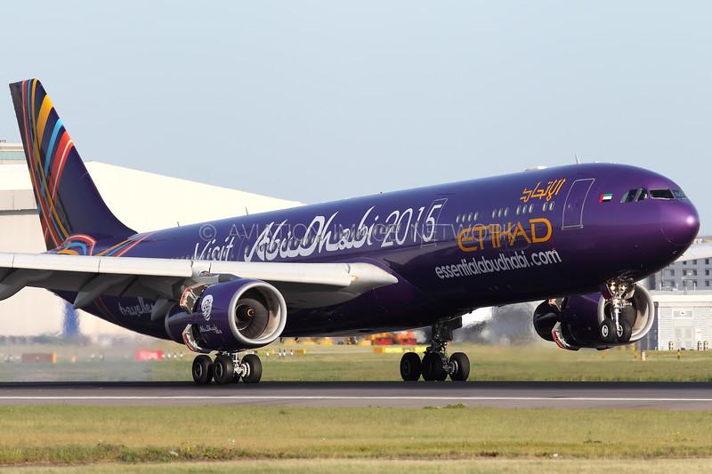 A6-AFA   Airbus A330-343   Etihad Airways