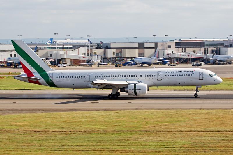 SU-BPY   Boeing 757-2Q8   Euro Mediterranean Airlines