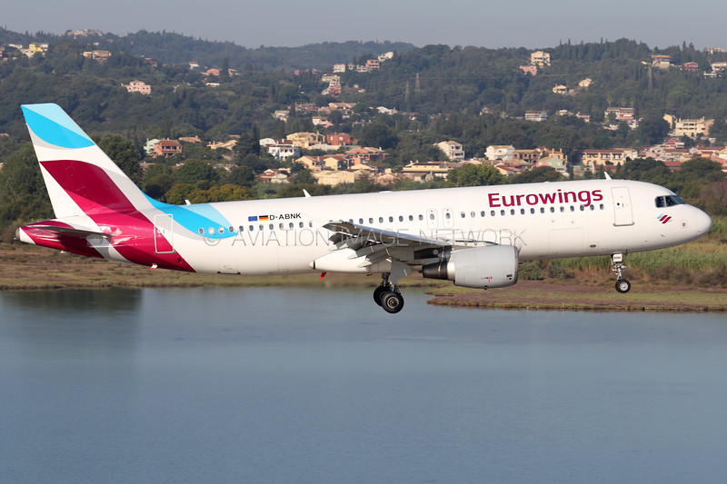 D-ABNK   Airbus A320-214   Eurowings